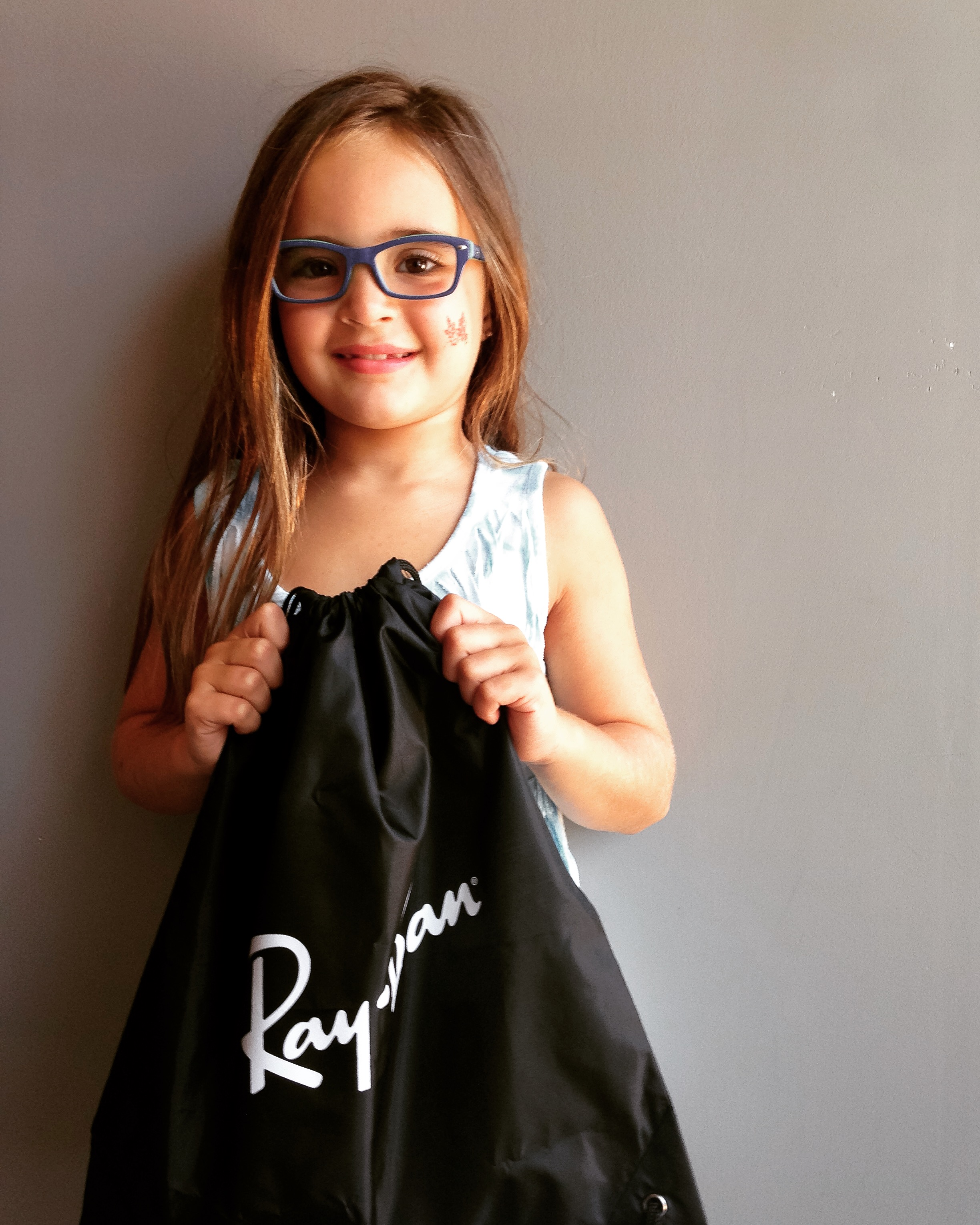 This little cutie in her RayBan
