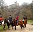 Paardentchten vanaf La faye