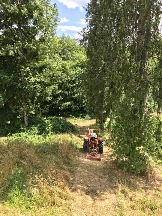 Dankzij nieuw maaimateriaal mooie wandelpaden op la Faye
