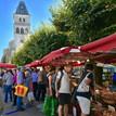 Zaterdag markt in Thiviers