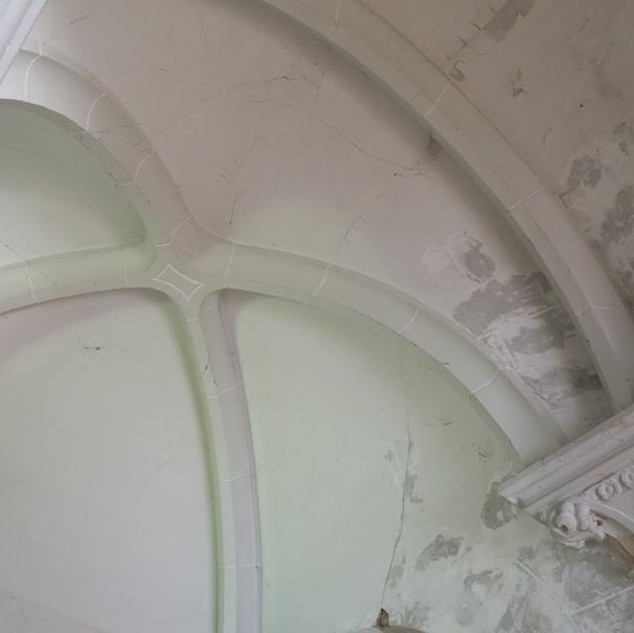Plafond galerij