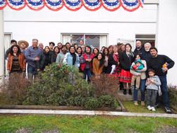 Reunión familias pastorales de Santiago