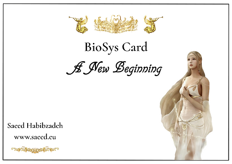 BioSys Cards - Series 1: A New Beginning