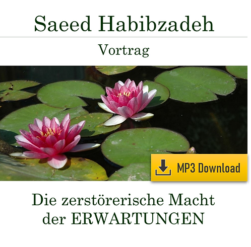 Vortrag (MP3): Die zerstörerische Macht der ERWARTUNGEN!