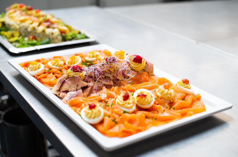 Bufetten, salades en hapjes op locatie