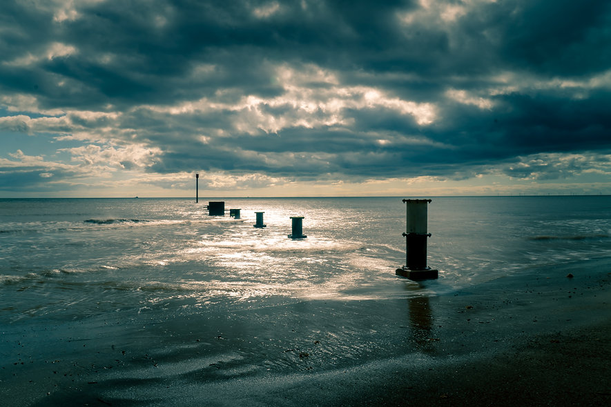 Mablethorpe Moody Seascape