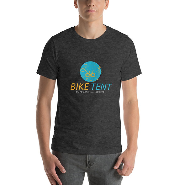 Bike Tent and Outdoors Short-Sleeve Unisex T-Shirt