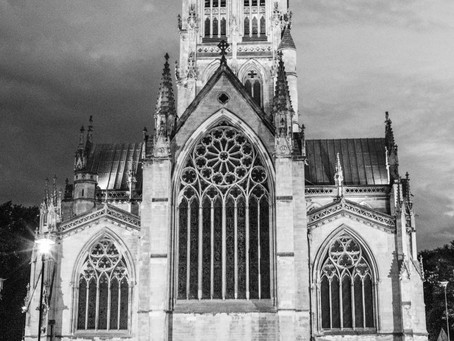 Doncaster Minster photo in Black and White