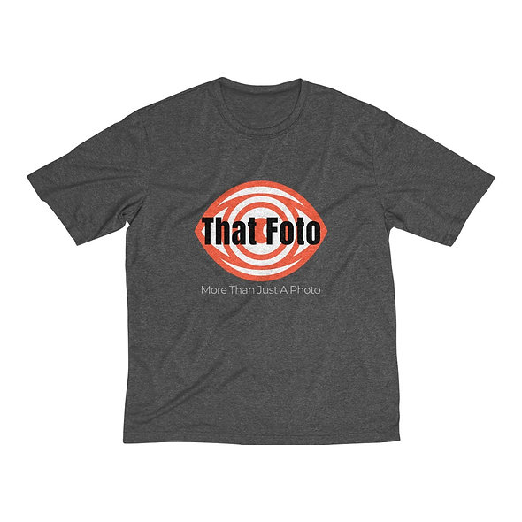 That Foto Logo Sportstec Men's Heather Dri-Fit Tee