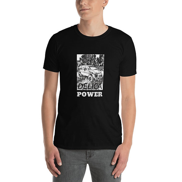 Delica Power Short-Sleeve Unisex T-Shirt