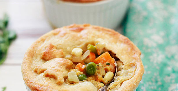 Chicken and Vegetable Pot Pie - Single Serve (Pack of 2)