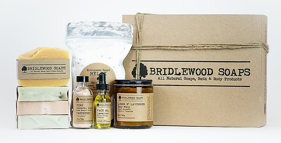 Bridlewood Soap Body Scrub - Orange & Vanilla