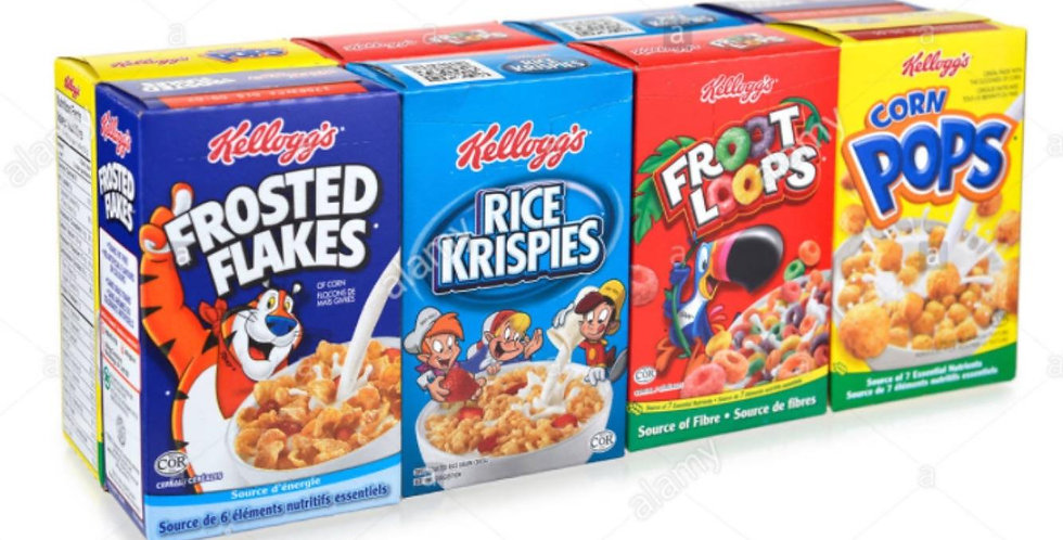 Assorted Mini Cereal