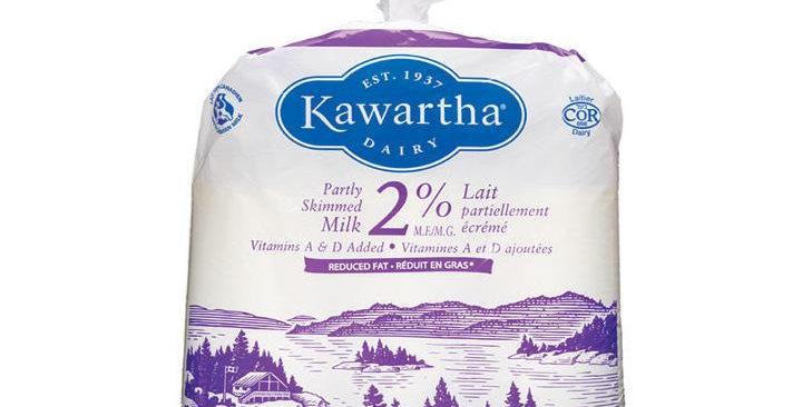 Kawartha Dairy 2% Milk (4LTR Bag)BBMar04/21