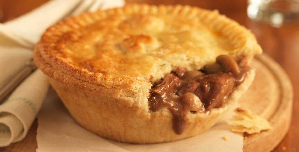 Beef and Vegetable Pot Pie - Single Serve (Pack of 2)