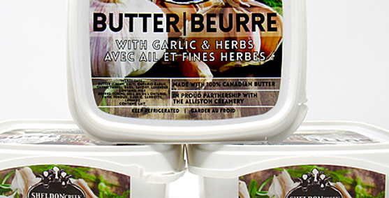 Sheldon Creek Garlic & Herb Butter