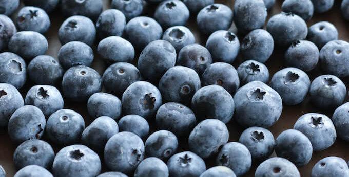 Frozen Wild Blueberries (1kg)