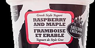 Sheldon Creek Yogurt - Raspberry Maple(BB March 18/21)