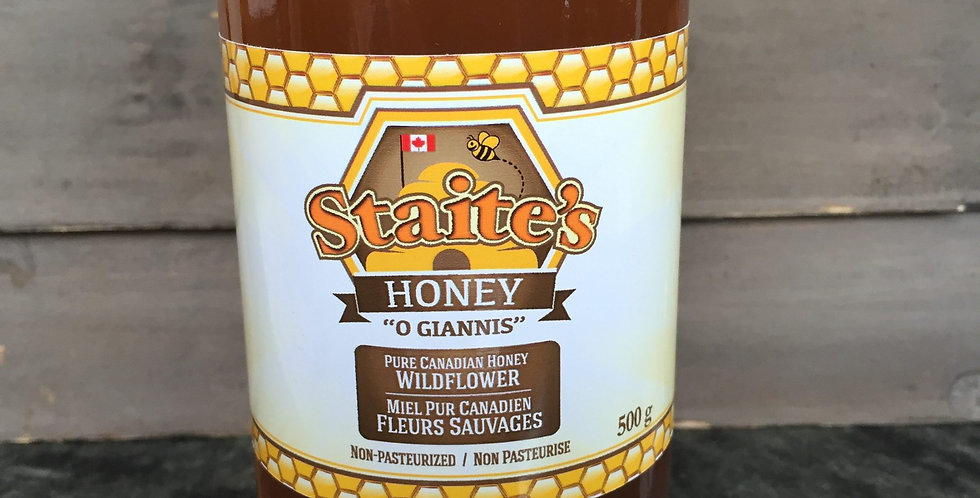 Staties Honey - Wildflower (500g)