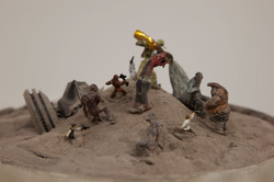 Zombie Jedi Battle Close-Up