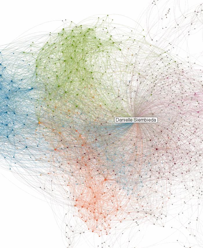 Danielle's Linkedin Network