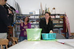 Art Inspector Removing Toxic Materials