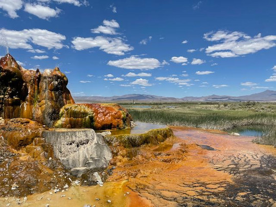 Fly Geyser at Flyranch, Nevada