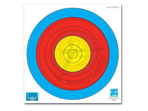 80cm 5 ring target face