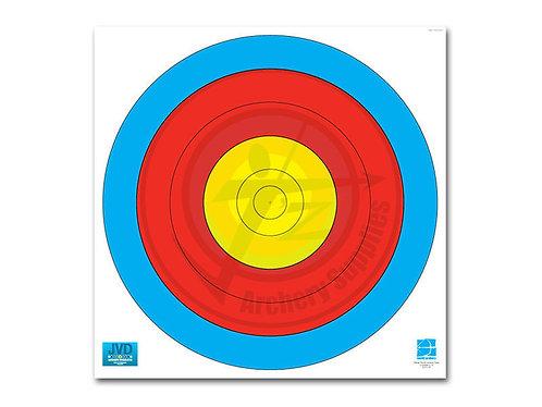 JVD Target Face 60 cm 5-Ring