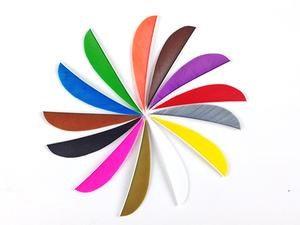 "4"" Feathers - Shield cut & parabolic"