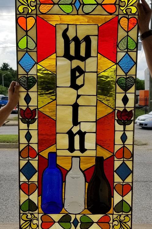 W-201 Stained Glass Window