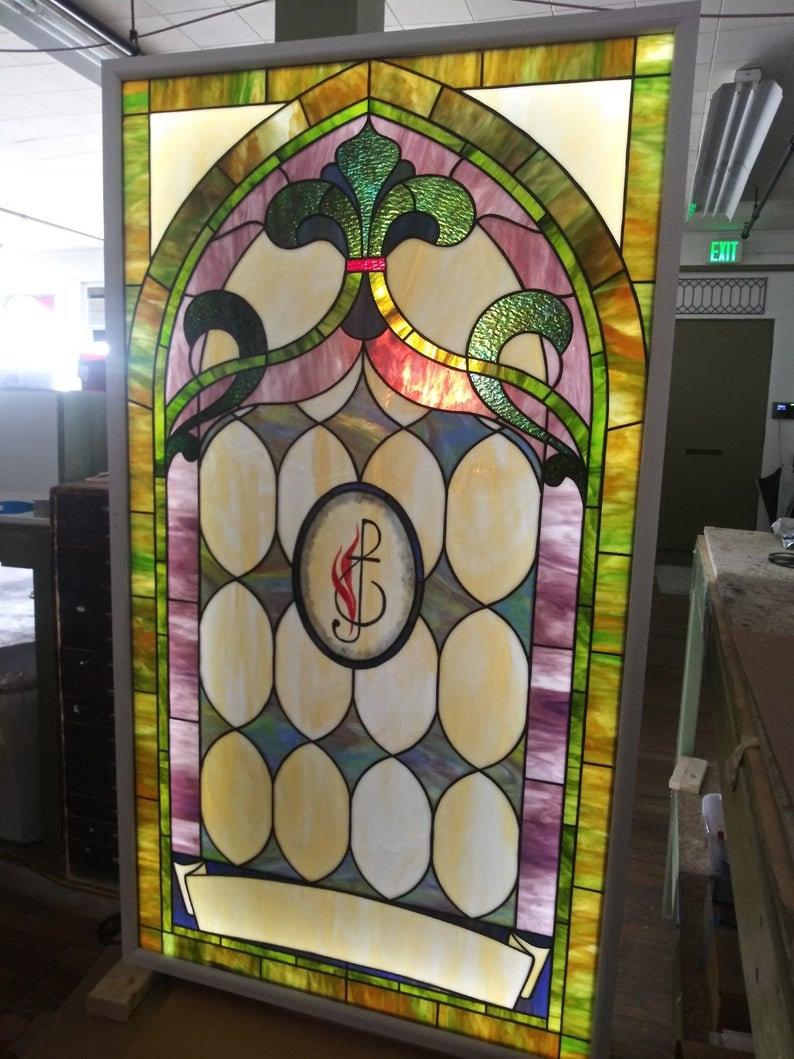W 350 Stained Glass Windows