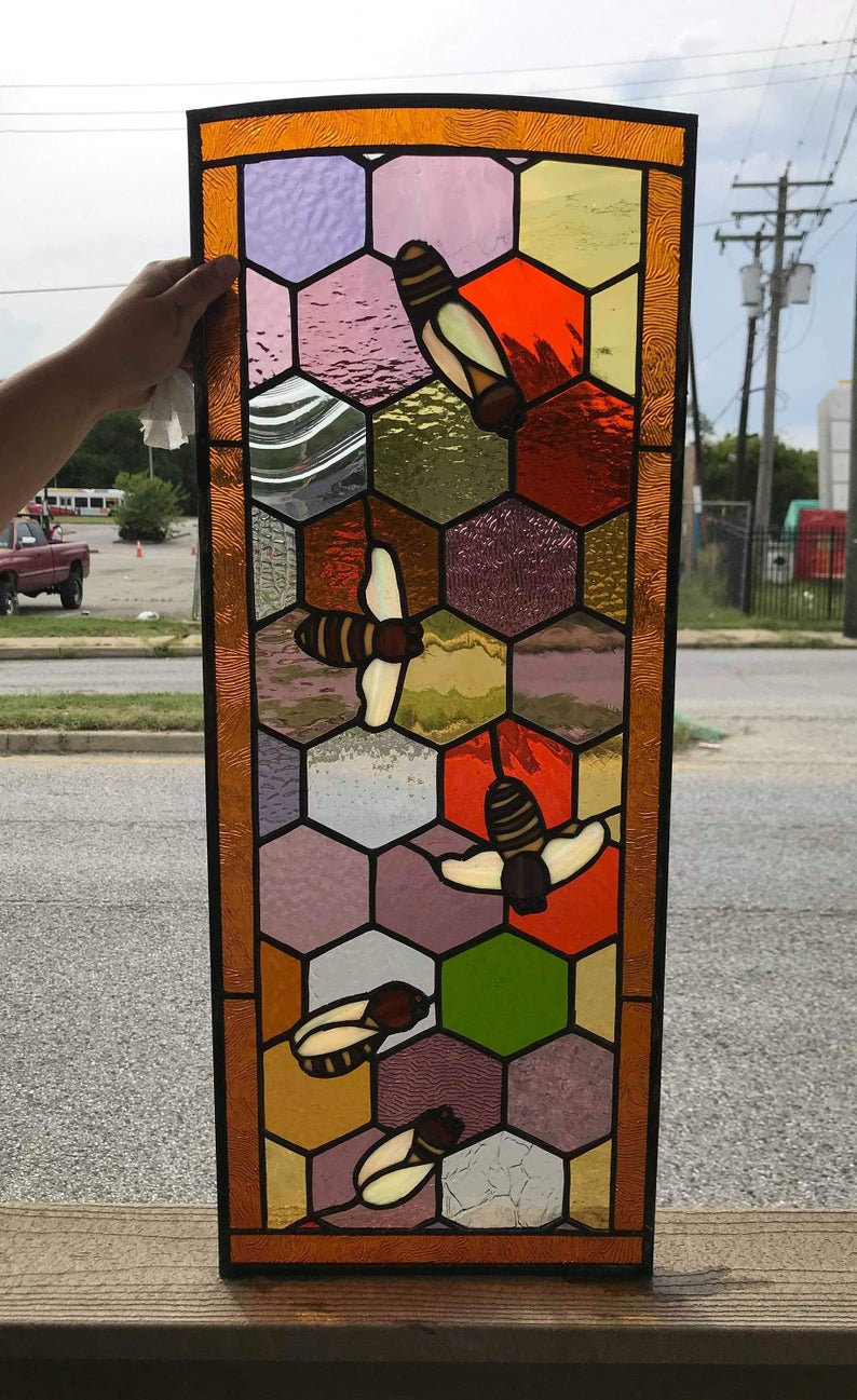 Ci 64 Stained Glass Cabinet Insert Terrazastainedglass