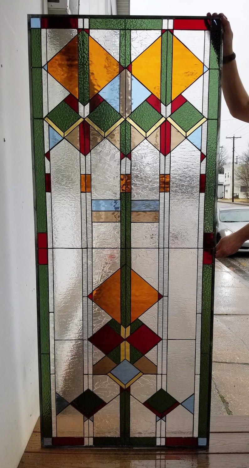 W 85 Stained Glass Window Terrazastainedglass