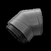 AquaAir HRV Insulated Rigid Elbow 45° DN 125/160/180