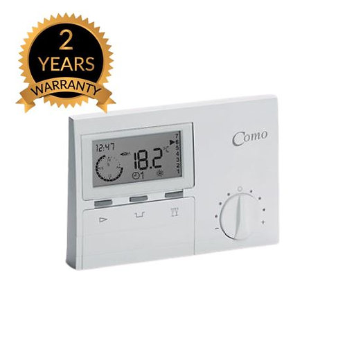 COMO Time and Temperature Programmable Digital Thermostat