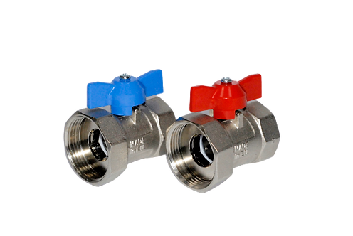 "POLYFLOW Straight Isolation Valve 1"" F X 1 1/4"" (per pair)"