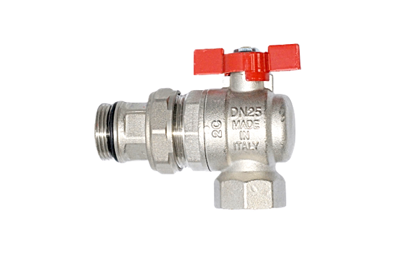 AQUAFLOW 1″ Isolation Angle Ball Valve