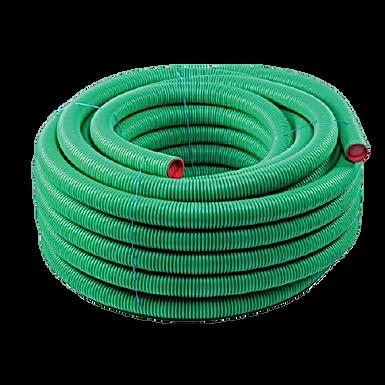 AquaAir Semi Rigid Pipe 50mtr 75mm Anti Bacterial/Static