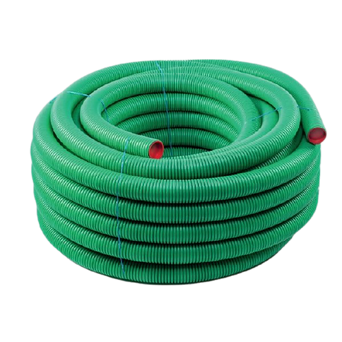AquaAir Semi Rigid Pipe 50mtr 75mm Anti Bacterial/Static
