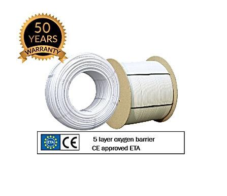 PERT Underfloor Heating Oxygen Barrier Pipe (16mm)