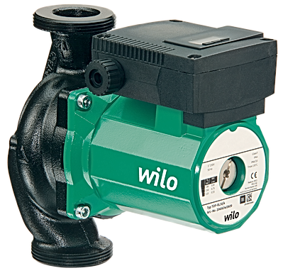 WILO Top S 25/7 High Head Heating Pump and Unions