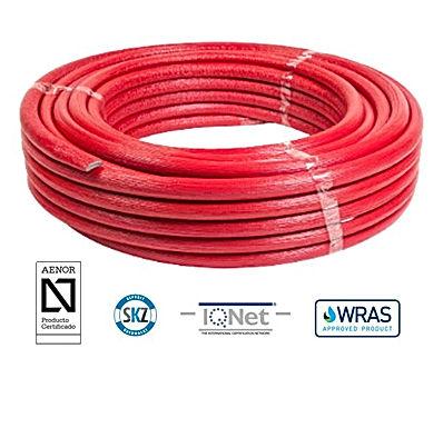AQUAFLEX pert/al/pert Pipe Pre Insulated (RED)