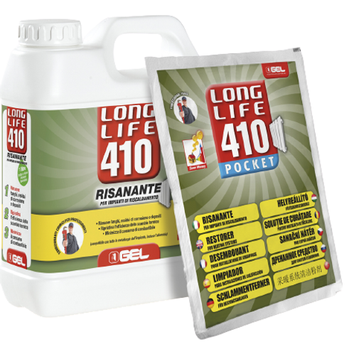 GEL Long Life 410 Medium System Cleaner (per sachet)