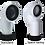 Thumbnail: 90° WC Pan Connector (110mm)
