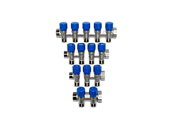 """Compression Manifold With Isolation Valves 3/4"""" and 1"""""""
