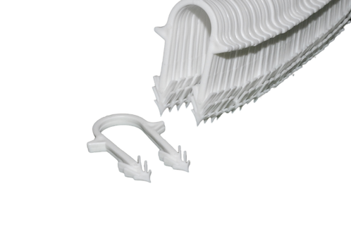 White Underfloor Staples 50mm (Box of 270)