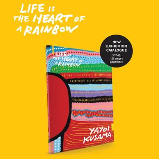 Poster design for Yayoi Kusama's Publication