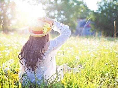 Sonne in Maßen genießen