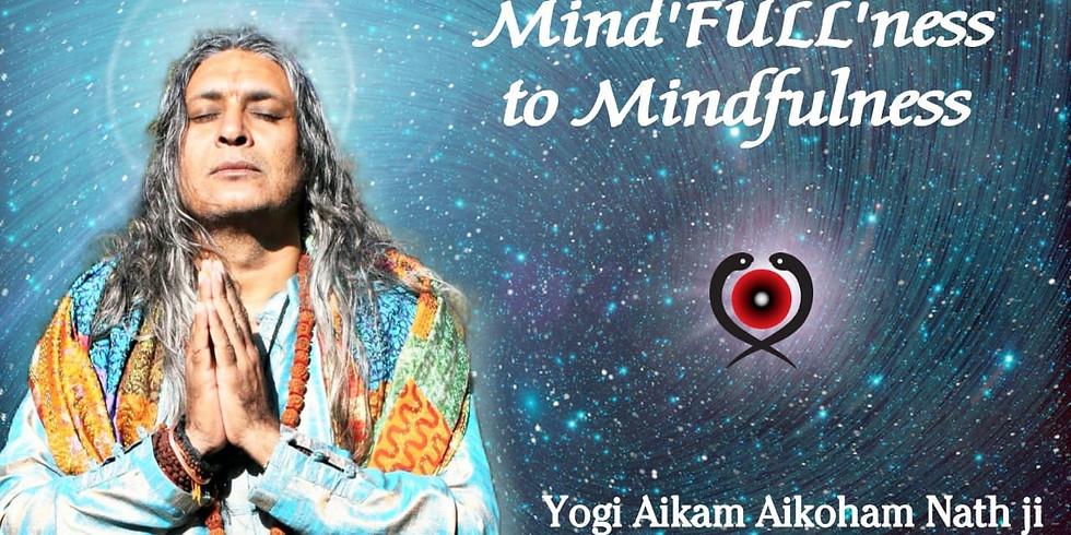 "Mind""FULL""ness to Mindfulness"
